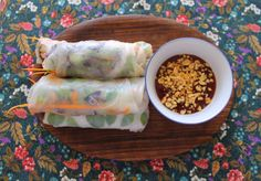Vietnamese Summer Rolls, Fresh Rolls, Ethnic Recipes, Check, Food, Vietnamese Spring Rolls, Eten, Meals, Diet