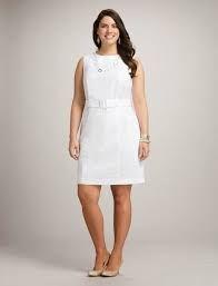 Resultado de imagen para vestidos sencillos favorecedores para gorditas
