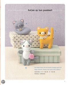 bol.com   Snoezige minidiertjes met vilt   9789044736847   Boeken