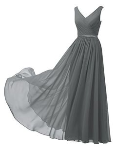 Find Alicepub V-Neck Chiffon Bridesmaid Dress Long Party Prom Evening Dress Sleeveless online. Shop the latest collection of Alicepub V-Neck Chiffon Bridesmaid Dress Long Party Prom Evening Dress Sleeveless from the popular stores - all in one Long Formal Gowns, Formal Dresses For Weddings, Formal Dresses For Women, Formal Evening Dresses, Dress Formal, Ball Gowns Prom, Cheap Prom Dresses, Long Bridesmaid Dresses, Party Dresses