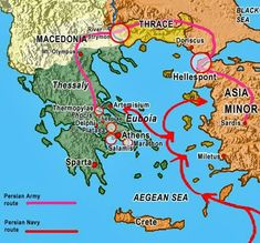 Iran Politics Club: Iran Historical Maps 3: Greco-Persian Wars, Greco-Macedonian Occupation
