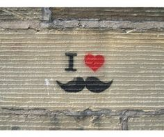 mustache grafitti @Heather Danielson this one is for you lol