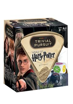 This Trivial Pursuit bite-size edition contains 600 questions based on the Harry…