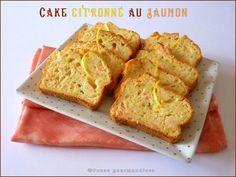 Cake citronné au saumon (16) Banana Bread, Brunch, Snacks, Quiches, Voici, Desserts, Food, Salty Tart, Tarts