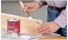how to paint (german) Diy Wood Projects, Wood Crafts, Diy And Crafts, Bamboo Cutting Board, Plastic Cutting Board, Hobbies And Interests, Diy Tools, Woodworking Shop, Painting On Wood
