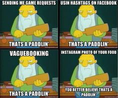 @chgdiapers - can't read this without hearing his voice, ha ha!! #simpsons Facebook LOL