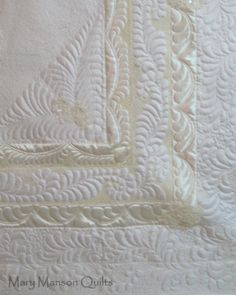 Sneak Peak -Wedding Dress Quilt