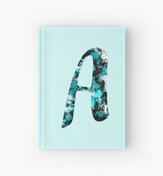 The letter A decorated with a paint splash pattern. • Millions of unique designs by independent artists. Find your thing. Paint Splash, Canvas Prints, Art Prints, Finding Yourself, Stationery, Clock, Artists, Lettering, Unique