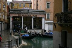 #TeaCollection Venice Italy, Hard rock cafe @Jo Johnson - have a burger with an impecable view