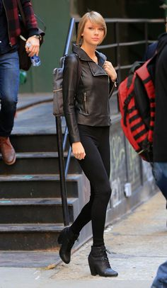 Taylor Swift out and about in NYC 12.26.14