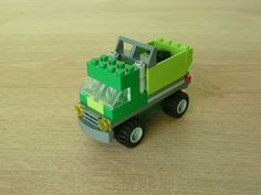 Totobricks: LEGO CLASSIC 10704 How to build a Garbage Truck