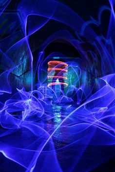 Breathtaking Light Art Performance Photography