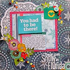Christy Strickler Tips for Scrapbook Layouts without Photos My Scrapbook Evolution