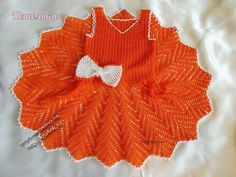 Chevron Crochet baby dress pattern. More Great Looks Like This