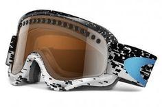 4c209cab2b8 Oakley O-Frame Snow Goggles (White Frame Black Iridium Lens) by Oakley