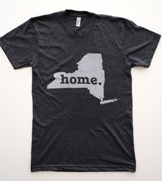 The #NewYork Home T is definitely not for tourists. Buy it here, http://www.thehomet.com/shop/new-york-home-t.