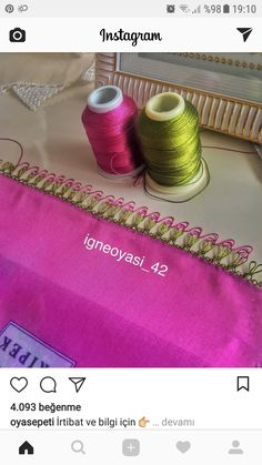 This post was discovered by serap kavi. Discover (and save!) your own Posts on Unirazi. Crochet Unique, Button Crafts, Nail Tutorials, Needle And Thread, Free Sewing, Save Yourself, Embroidery Stitches, Needlework, Diy And Crafts