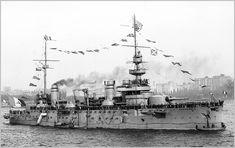 Photographies vintages des cuirassés, croiseurs cuirassés et croiseurs .: Juin 2013