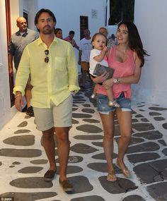 Jay,Tamara and Sophia in Mykonos