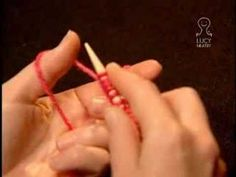 ▶ Lucy Neatby on Knitting: German Twisted Cast On - YouTube