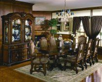Neo Renaissance Formal Dining Room Furniture Set Table 8 Side 2 Arm Chairs in Home & Garden, Furniture, Dining Sets Dining Room Suites, Dining Room Walls, Dining Room Furniture, Furniture Sets, Furniture Design, Formal Dining Tables, Elegant Dining Room, Walnut Dining Table, Dining Table Chairs