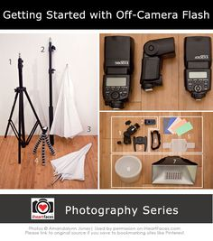 Getting Started with Off-Camera Flash {Photography Series}