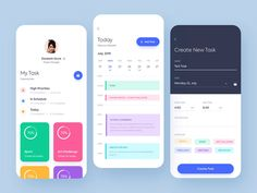 A list of top User Inteface (UI) and User Experience (UX) Design Works for Inspiration . Mobile app interfaces and Web design works. Web Design, App Ui Design, Flat Design, Interface Design, User Interface, Design Trends, Web Mobile, Mobile App Ui, Application Design