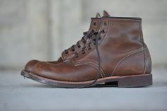 redwingshoestoreamsterdam:  The leather looks already soft on the picture!