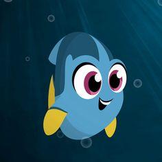 Disney Pixar, Chibi Disney, Film Disney, Disney Fan Art, Disney Cartoons, Disney Animation, Cute Disney Drawings, Art Drawings For Kids, Gif Animé
