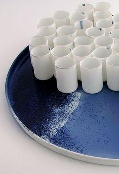 Piet Stockmans porcelain cups.