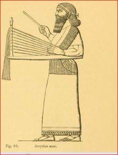 Assyrian musician