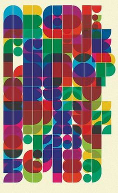 Typographic poster design: