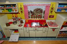 marx pretty maid modern kitchen - lost & found vintage toys
