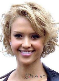 Love Hairstyles for short curly hair? wanna give your hair a new look? Hairstyles for short curly hair is a good choice for you. this Popular short wavy hairstyles & short hairstyles for wavy hair.Need inspiAration for your wavy . Thick Curly Hair, Curly Hair Cuts, Short Hair Cuts, Curly Short, Curly Bob, Short Curls, Pixie Cuts, Short Waves, Loose Curls