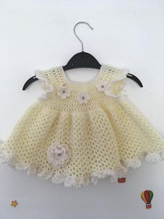 Excited to share the latest addition to my shop: Baby girl crochet dress Crochet Dress Girl, Baby Girl Crochet, Baby Girl Cardigans, Baby Cardigan, Happy Mom, Happy Baby, Girls Dresses, Summer Dresses, Little Flowers