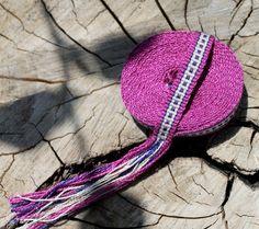 Inkle Weaving Silk Ribbon by inkleing on Etsy, $26.00