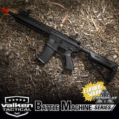 Coming Soon to AirSplat! The New Valken Battle Machine AEG RIfle! Like, Comment, & SHARE! Share your thoughts about the new rifle below! What do you like or don't like about it! http://www.airsplat.com/valken-battle-machine-airsoft-aeg-rifle-mod-m-black.html