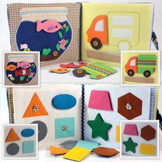 Children's Quiet Book Busy Book Eco friendly Toddler par MiniMoms