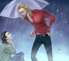 [Thor and Loki] Rainy Days by =teralilac on deviantART