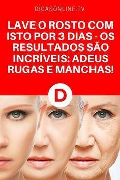 Bicarbonato rosto   LAVE O ROSTO COM ISTO POR 3 DIAS - OS RESULTADOS SÃO INCRÍVEIS: ADEUS RUGAS E MANCHAS!