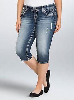 1e9f6e3dc0 Slim Boot Jean - Medium Wash (Short)
