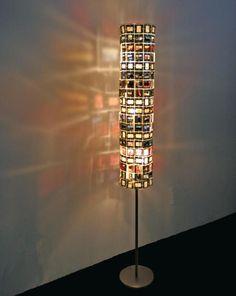 Fabriquer une lampe avec des diapositives