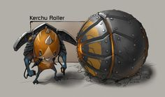 Kerchu Roller from Ratchet and Clank