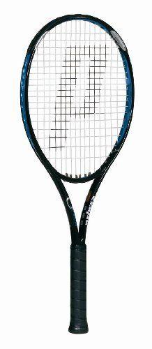 Prince O3 Blue OS Prestrung Tennis Racquet (4 1/4) by Prince. $85.95. Pre-Strung Racquet. Save 28% Off!