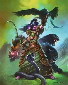 Card Name: Menagerie Warden Artist: Alex Horley
