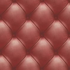 Dutch Wallcoverings vliesbehang kapiton - rood Chesterfield, Warehouse, Magazine, Barn, Storage Room, Container Homes