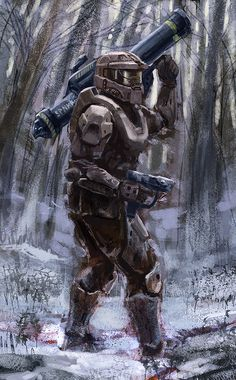 Master Chief SPNKr by artbygp.deviantart.com on @deviantART