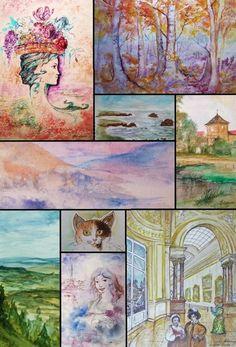 Dessins & Aquarelles Christian Eprinchard (Peinture),  25x20 cm par Christian    Eprinchard Dessin et Aquarelle