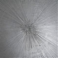 Tela Abstrata Prata com glitter Dandelion, Glitter, Plants, Abstract Canvas, Decorative Frames, Moldings, Ink, Artworks, Artists