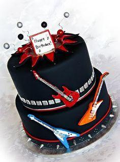 SlayerExodus Cake Rock Candy Cakes Sweets Cake And Cake - Slayer birthday cake